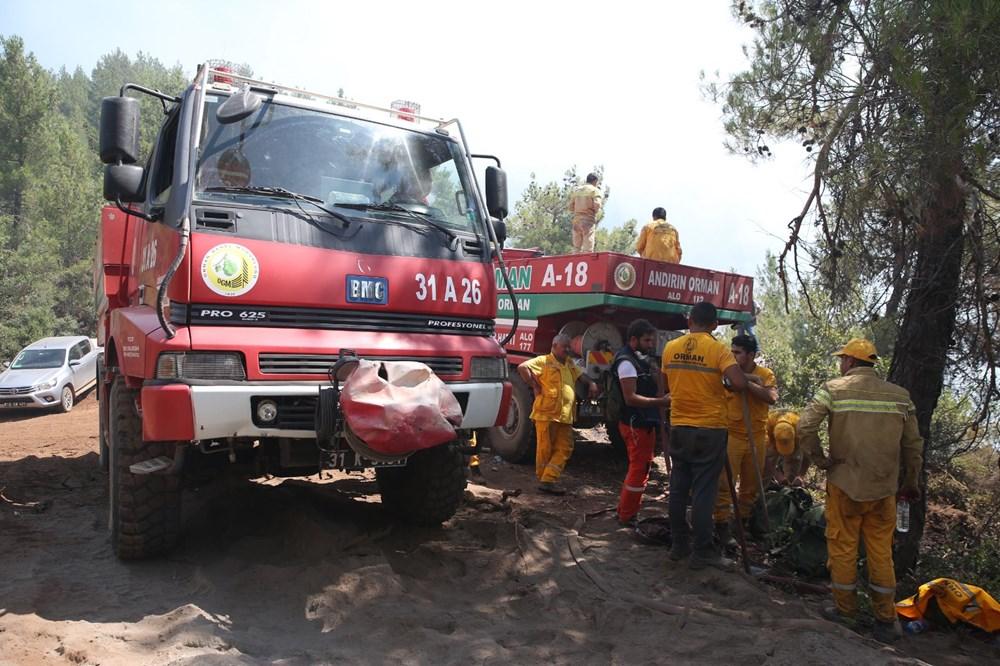 Hatay ve Mersin'de orman yangını - 13