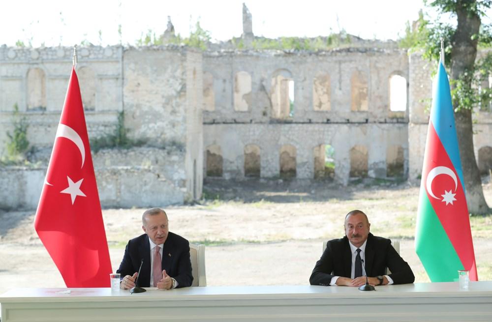 Cumhurbaşkanı Erdoğan ve Aliyev Şuşa Beyannamesi'ni imzaladı - 12