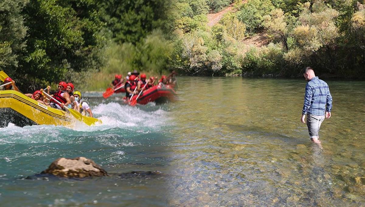Rafting heyecanı 'susuz' kaldı