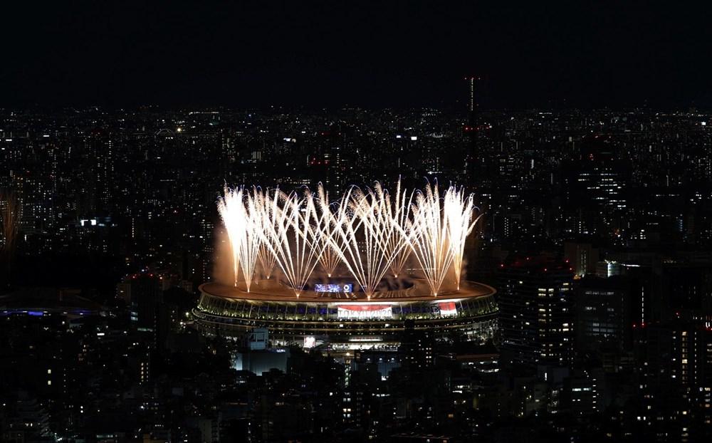 2020 Tokyo Olimpiyatları görkemli açılış töreniyle başladı - 71