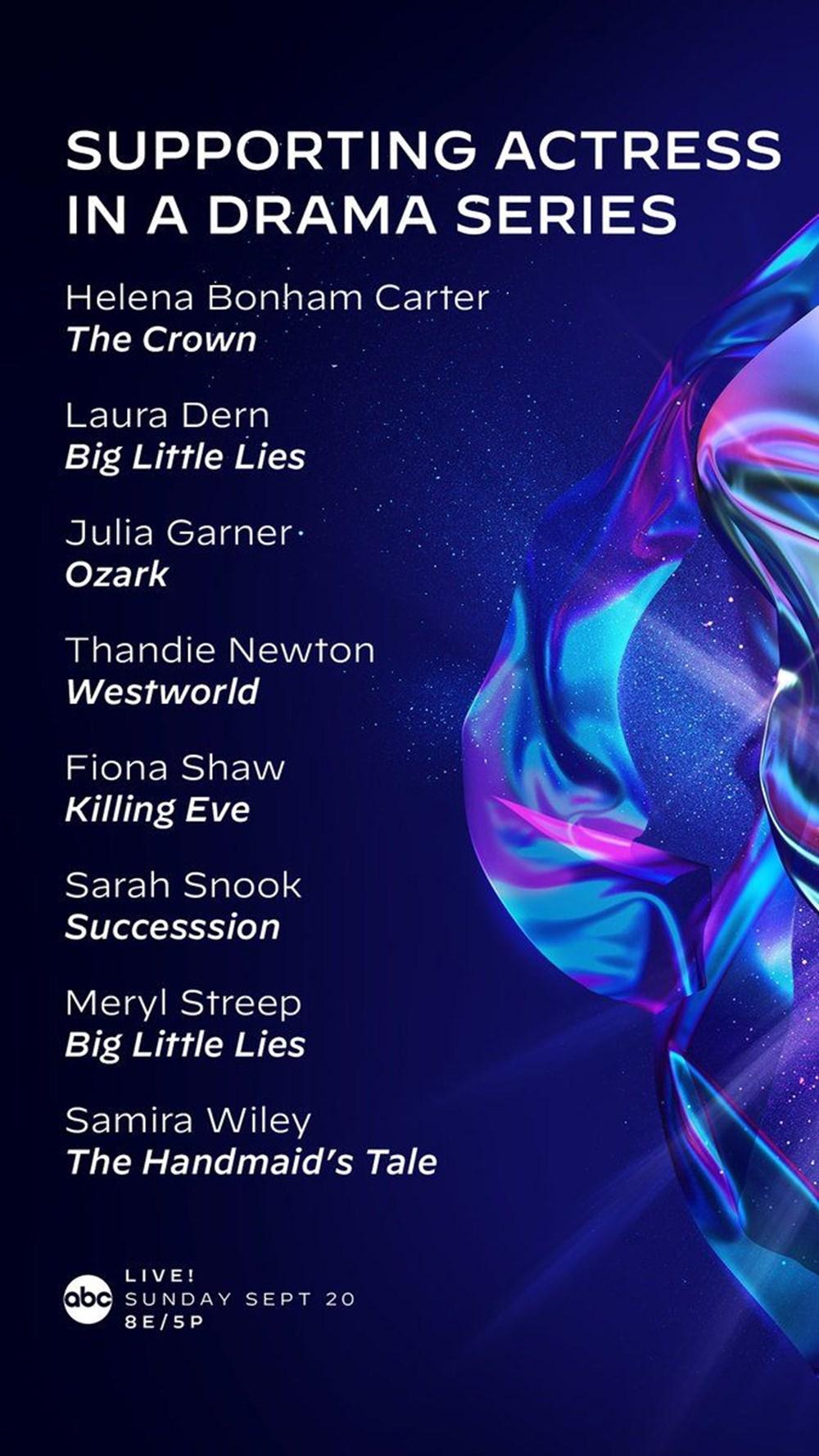 72. Emmy Ödülleri 2020 adayları belli oldu - 12