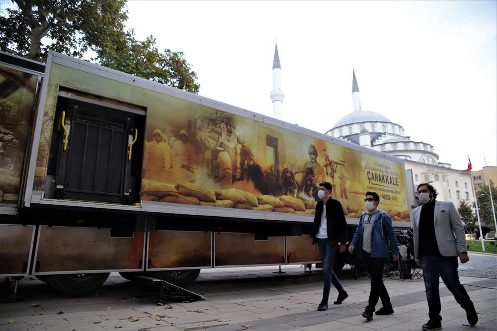 Çanakkale Savaşları Mobil Müzesi'nin 40'ıncı durağı Elazığ oldu - 6