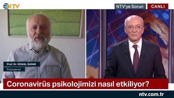 NTV'ye Sorun 24 Nisan 2020 (Konuk: Psikiyatrist Prof. Dr. Kemal Sayar)