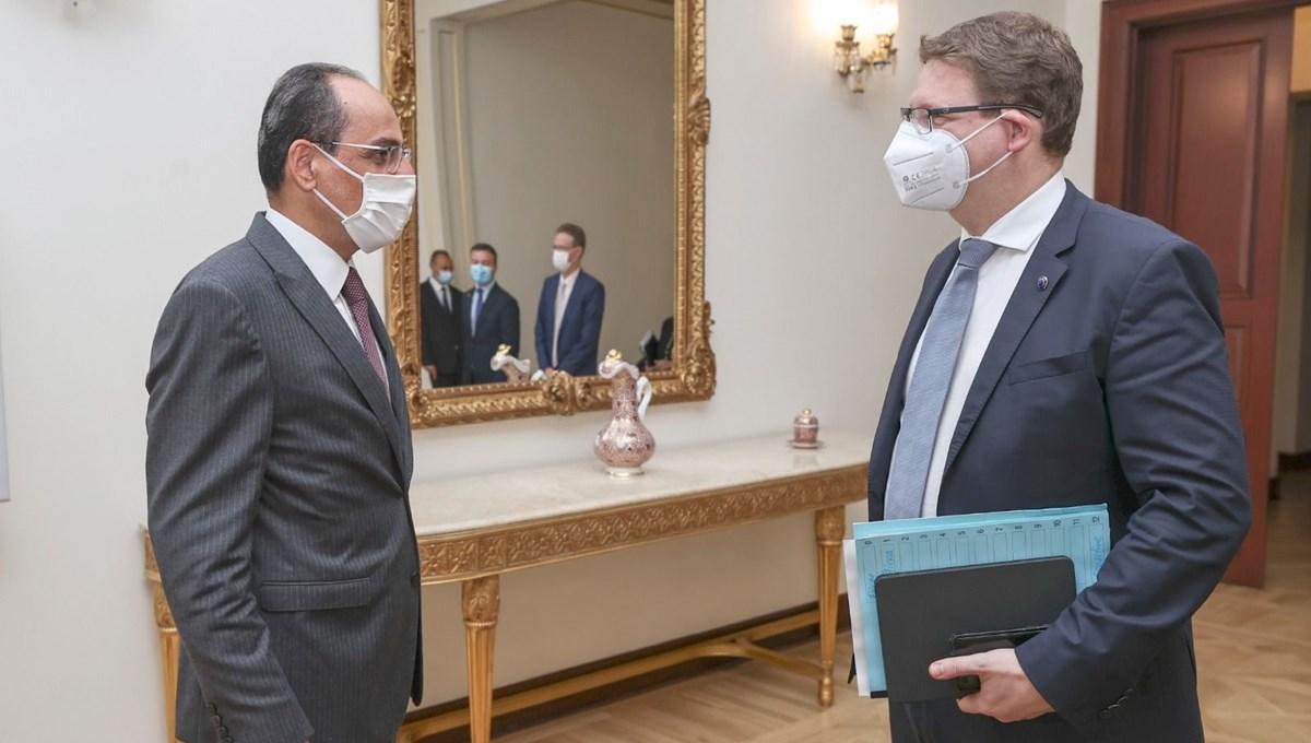 Cumhurbaşkanı Sözcüsü Kalın, AB Komisyonu Şefi Seibert ile görüştü