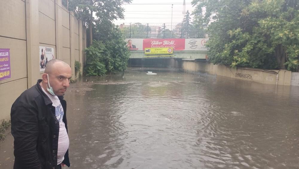 İstanbul'da şiddetli yağmur - 1
