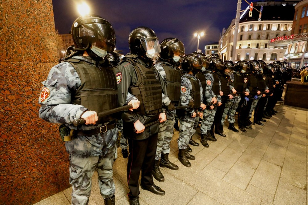 Rusya'da Navalny protestoları: Bin 700'den fazla kişi gözaltına alındı - 15