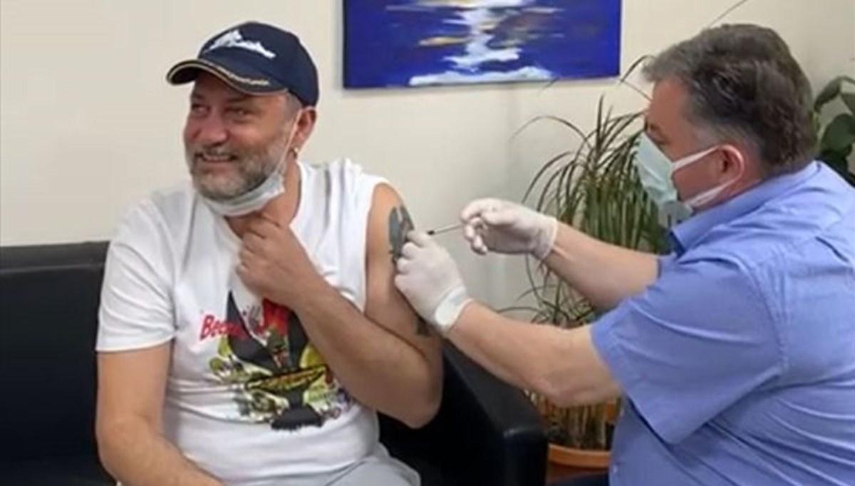 Corona virüs aşısı olan ünlü isimler