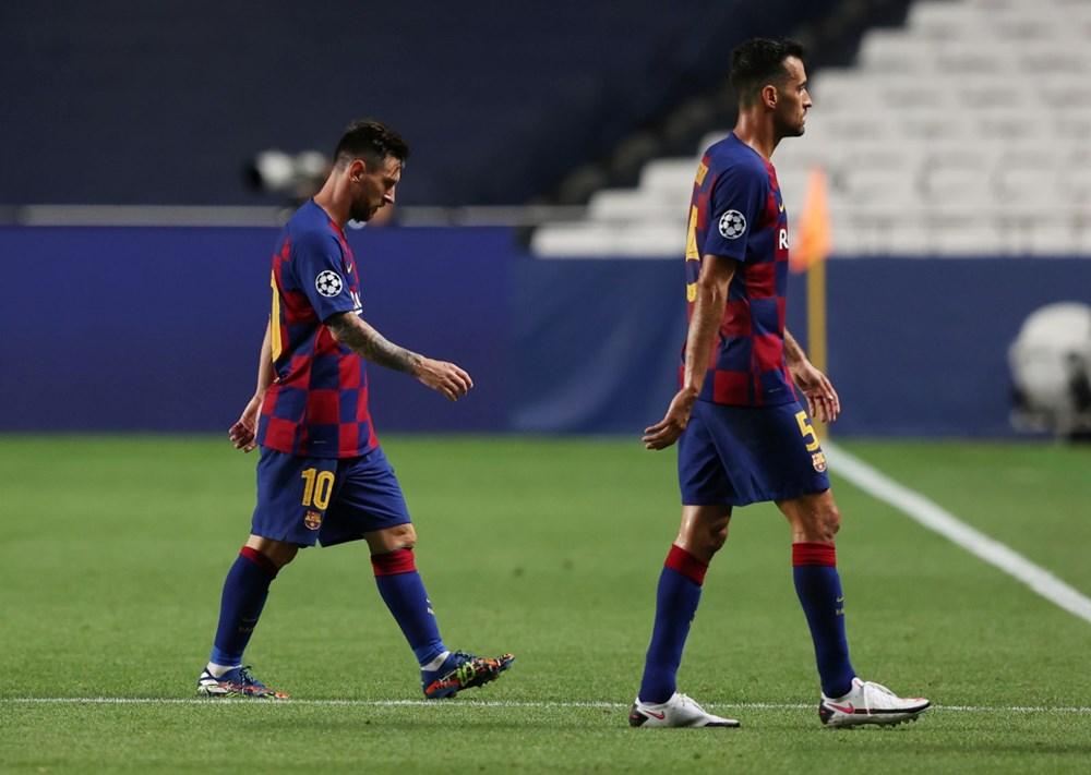 Bayern Münih'ten Barcelona'ya tarihi hezimet - 5
