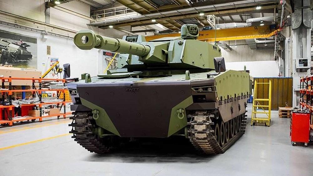 Dijital birliğin robot askeri Barkan göreve hazırlanıyor (Türkiye'nin yeni nesil yerli silahları) - 181