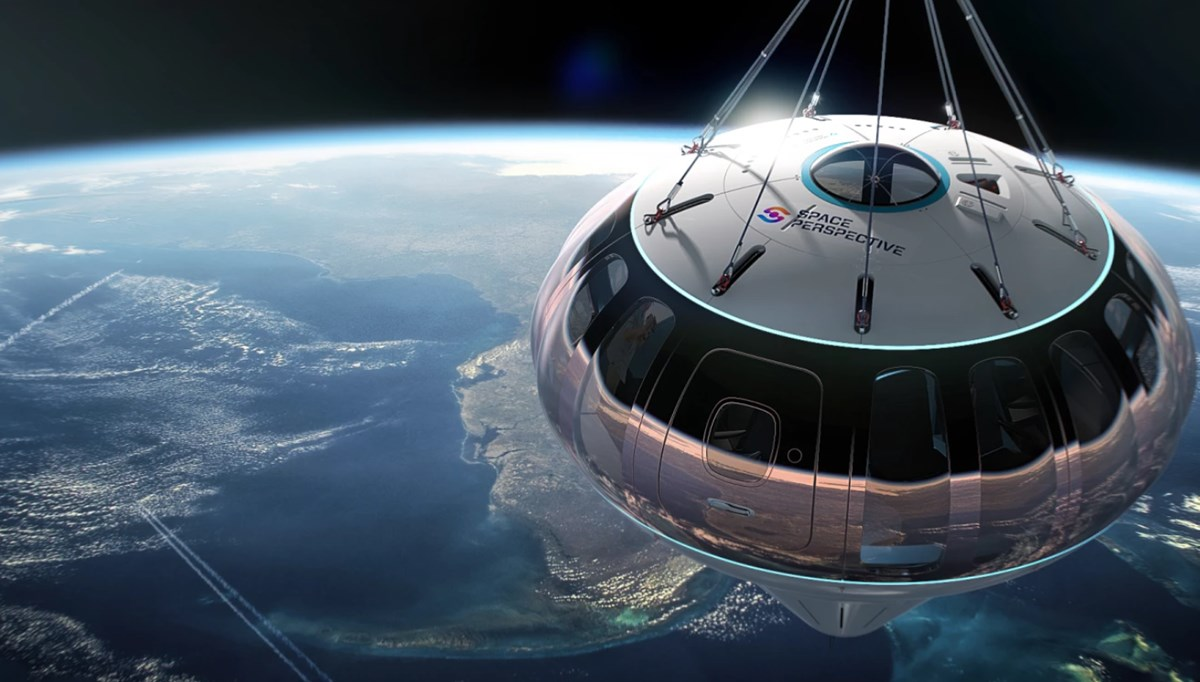 Balonla uzay turizmi için bilet satışı başladı: 150 bin dolarlık ücrete kahvaltı ve içecekler dahil