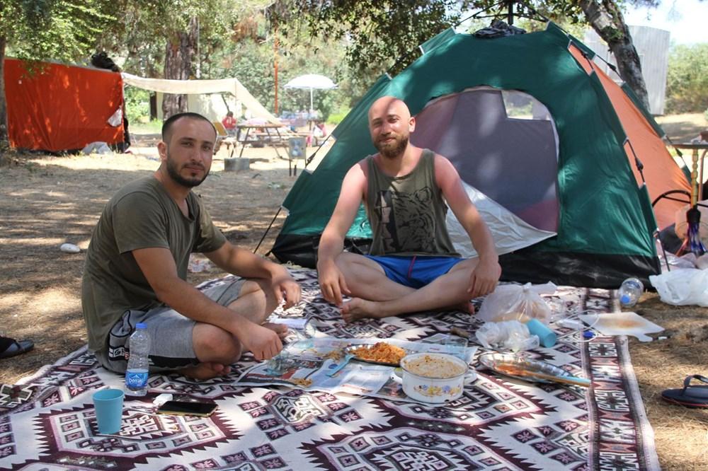 Sahiller çadır kente döndü: Günlüğü 45 liraya tatil - 13