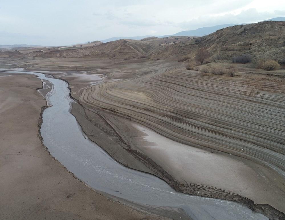 Barajdan geriye nehir yatağı kaldı - 2