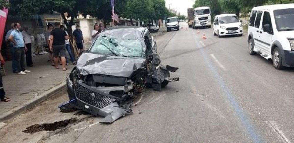 Otomobili takla atan oyuncu İlker Aksum'dan açıklama - 5