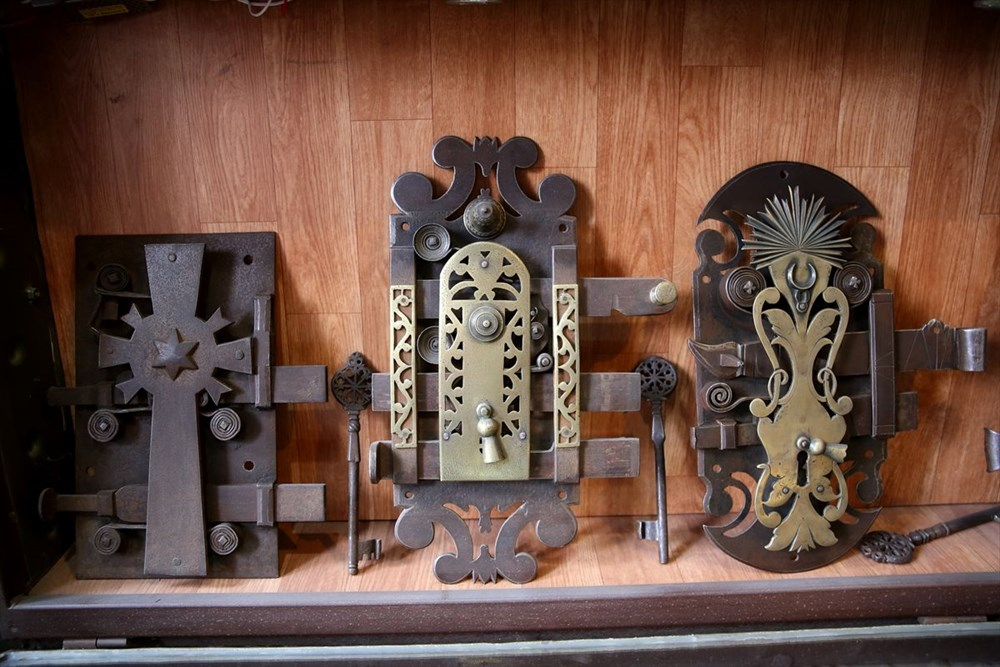 Müze hedefi: 42 yıldır kapı kilidi biriktiriyor - 9
