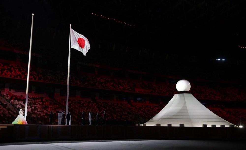2020 Tokyo Olimpiyatları görkemli açılış töreniyle başladı - 40