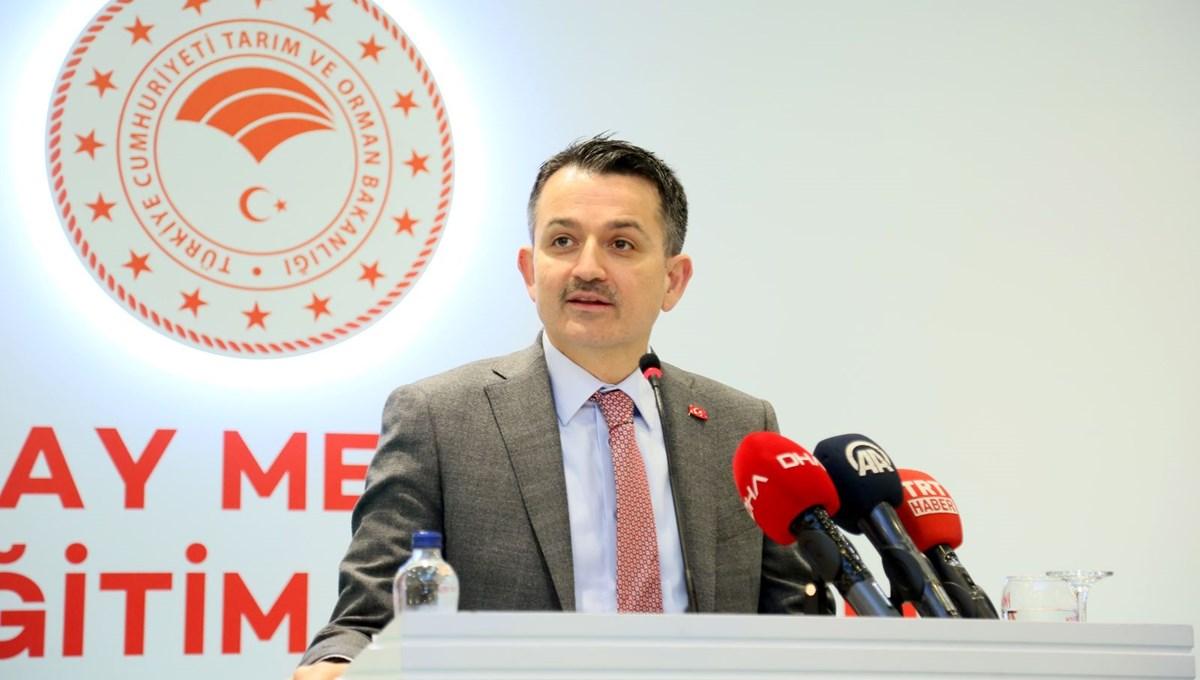 Bakan Pakdemirli: Polenlere karşı günlük ve saatlik uyarı yapacağız