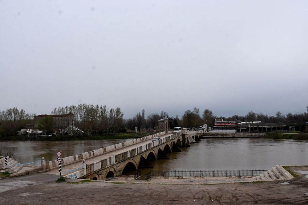 Tunca Nehri bir haftada 4 kat arttı: Sarı alarm verildi - 6