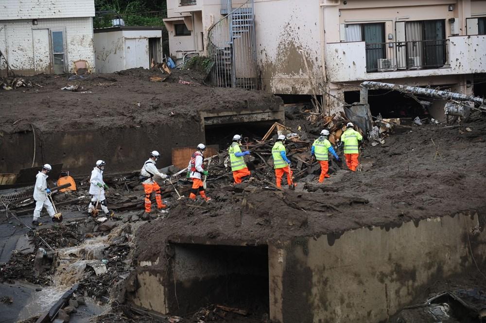 Japonya'daki sel felaketi: Ölü sayısı 7'ye yükseldi - 10