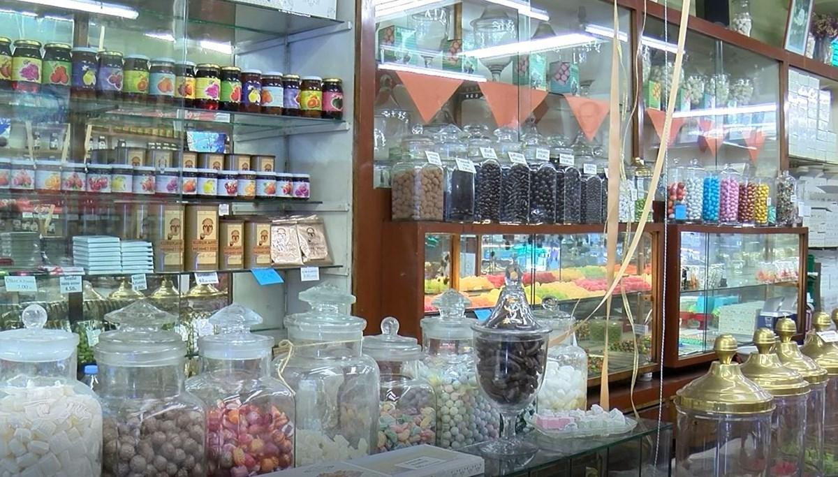 Tarihi Beyoğlu şekercisi 95 yıldır damakları tatlandırıyor