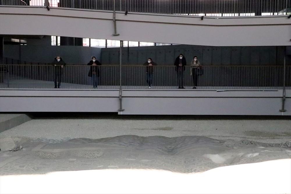 Hatay'da beş dönemin izlerini taşıyan Necmi Asfuroğlu Arkeoloji Müzesi ziyaretçilerini zaman yolculuğuna çıkarıyor - 3
