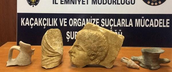 Sinop'ta 2 bin 400 yıllık tarihi eserler ele geçirildi