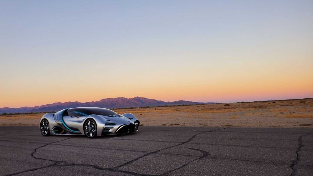 Hidrojen yakıtlı süper otomobil: Hyperion XP-1 - 3