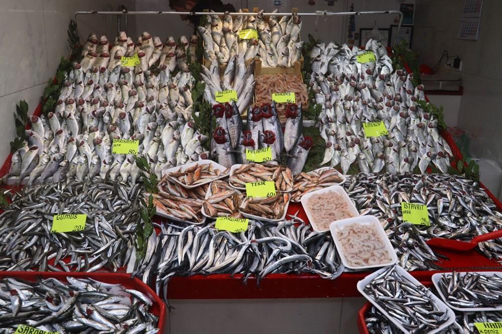 Çanakkale'de havalar ısındı balık tezgahları doldu, fiyat düştü - 3