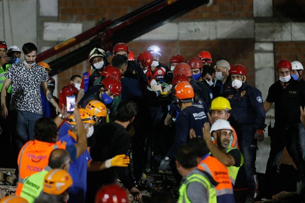 İzmir'de deprem sonrası enkaz altındakiler için zamana karşı yarış (58 saat sonra kurtarıldı) - 24