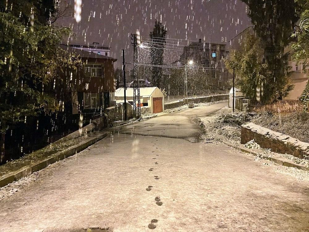 تساقطت الثلوج الأولى من الموسم في أرداهان - 3