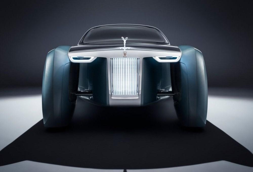 Rolls-Royce'un ilk elektrikli otomobili: İsmi açıklandı - 8