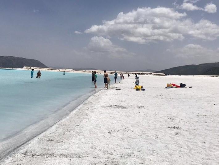 'Türkiye'nin Maldivleri' Salda Gölü'ne ziyaretçi akını