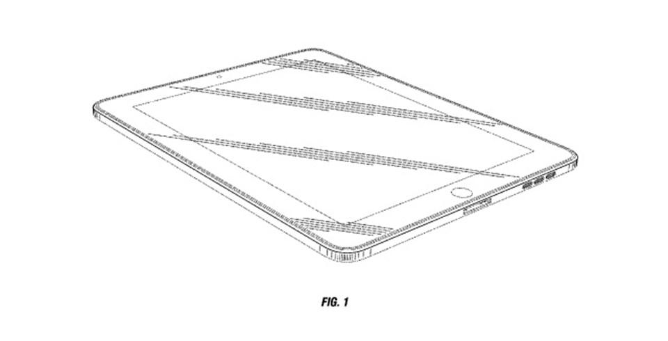 Apple'ın patentini aldığı tasarım.