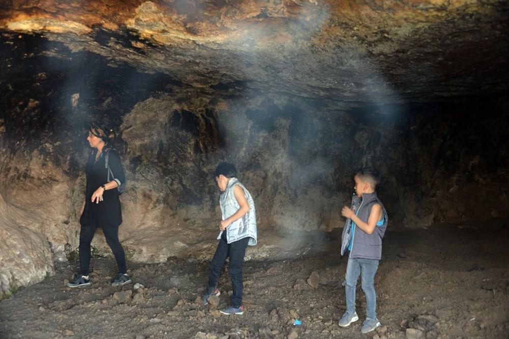 Hristiyanların gizli ibadet yaptıkları 1500 yıllık mağaralar ilgi çekiyor - 4