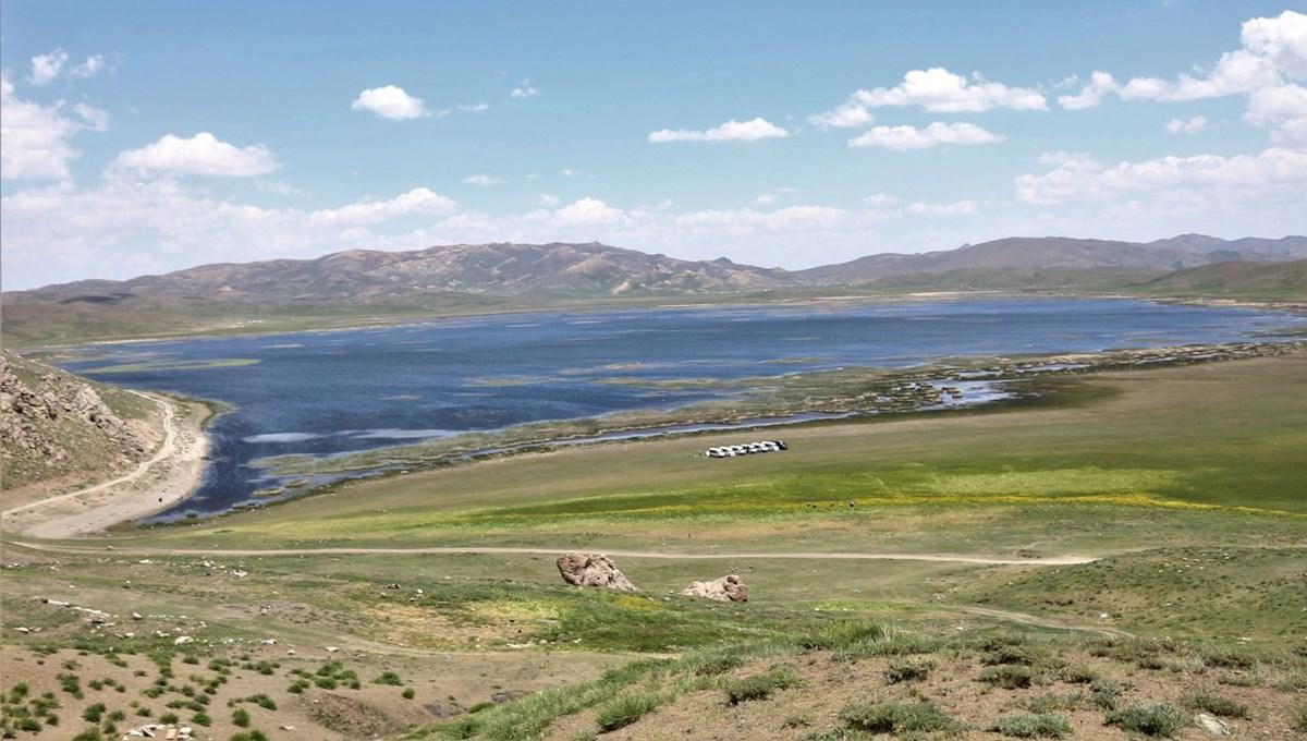 Urartuların mühendislik harikası 'Keşiş Gölü' güzelliğiyle hayran bırakıyor