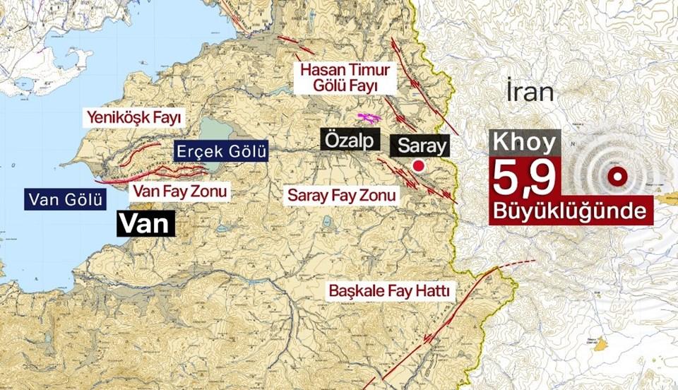 İran'daki depremin Türkiye'ye yakınlığı