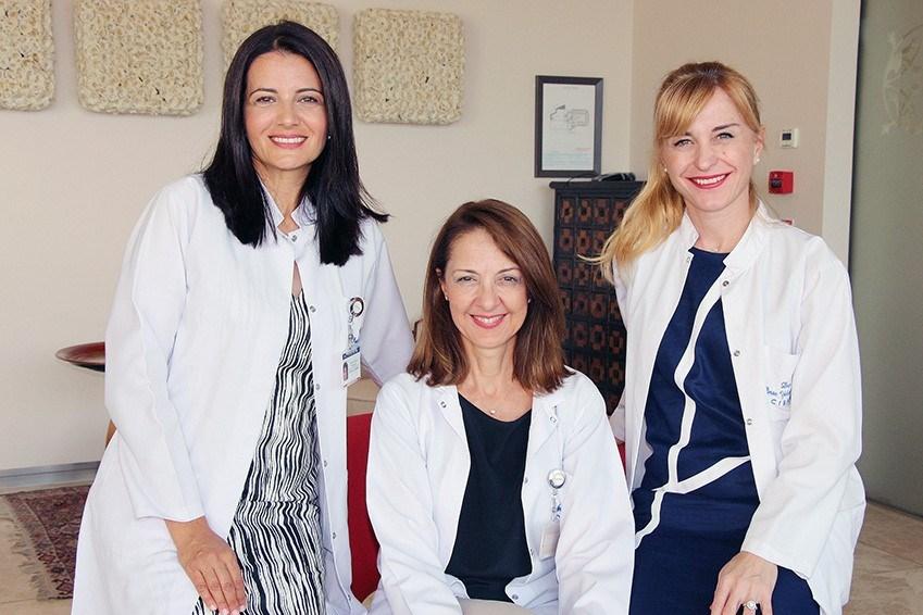 Dr. Aydınlar, Dr. Kocaman,Dr. Dikmen