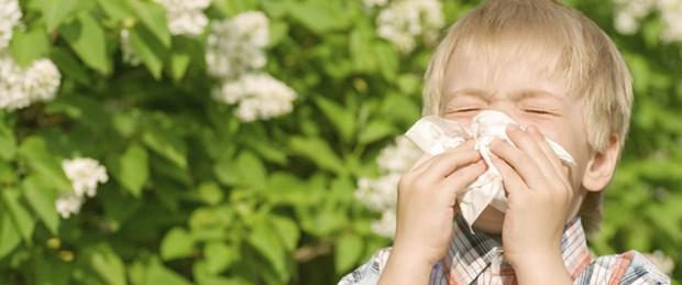 Çocukları bahar alerjilerinden koruyun