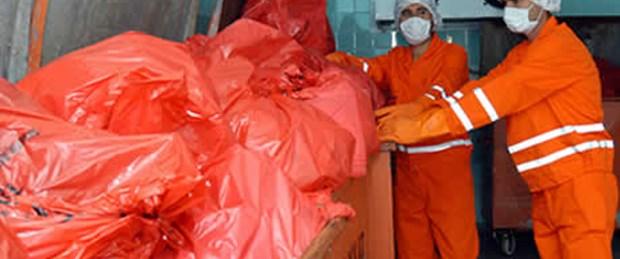 Domuz gribi kaynaklı tıbbi atık uyarısı