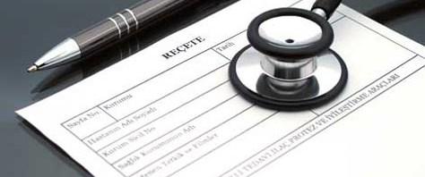 ''Dr. imzalı boş reçete'' iddiası
