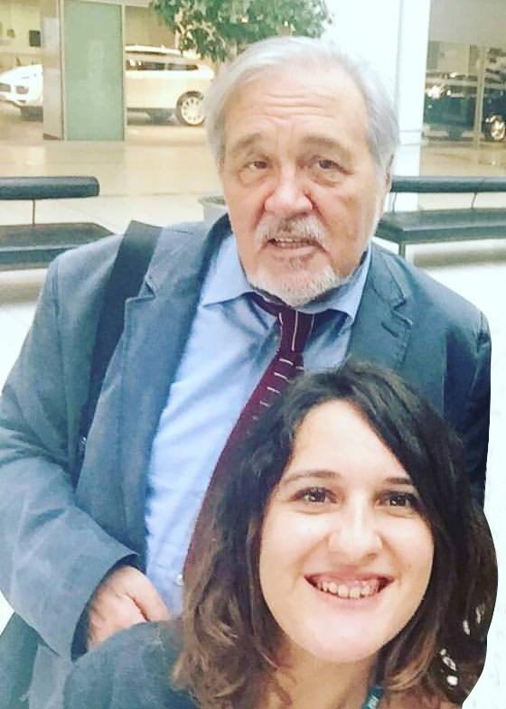 İlber Hoca ile selfie