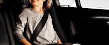 Emniyet kemeri ve çocuk koltuğuna tam destek