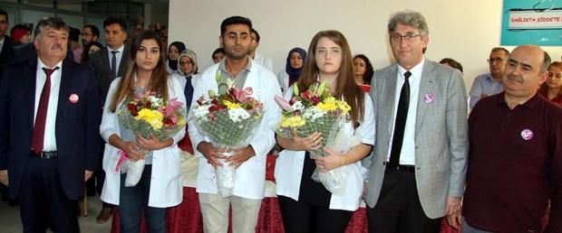Erciyes Üniversitesinde doktorlara şiddete tepki