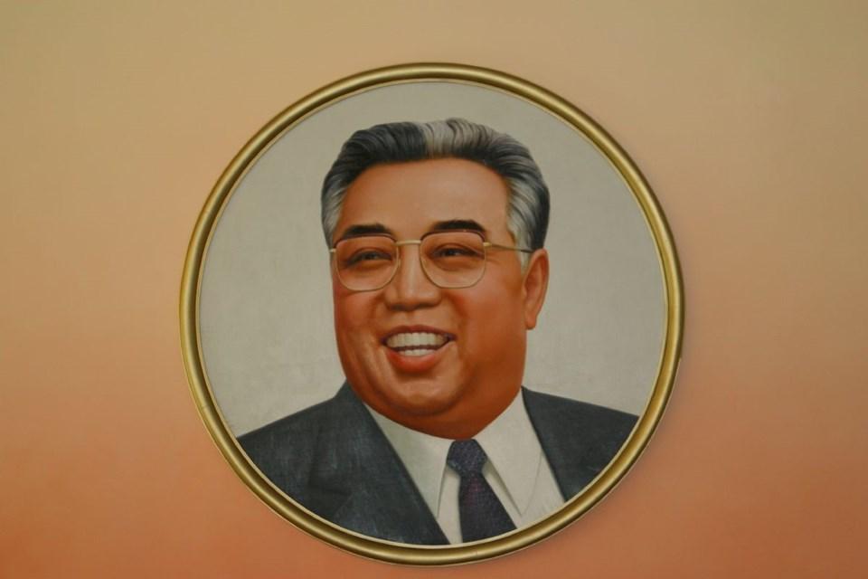Kuzey Kore'nin eski Devlet Başkanı Kim Il Sung