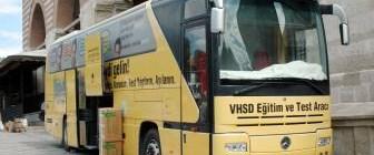 Hepatit otobüsü Avrupa yolcusu