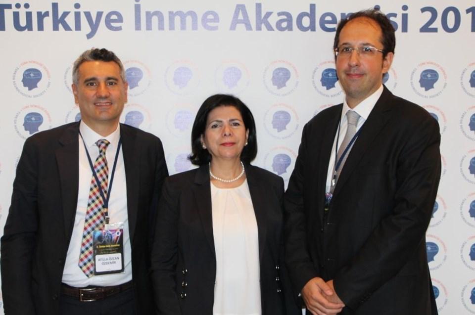 Prof. Dr. Özcan Özdemir, Prof. Dr. Şerefnur Öztürk,Prof. Dr. Ethem Murat Arsava