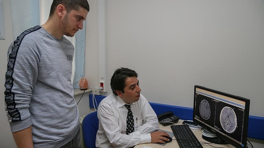 Yakup Kızılay ve doktoru Doç. Hülagü Kaptan