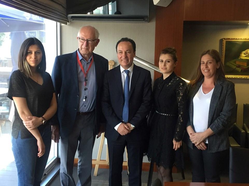 Mehpare Köseli, Prof. Rene Verdonk,Prof. Uğur Haklar,Beşire Virdil ve Ece Şimka