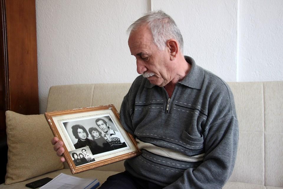 Mehmet Abdurrahman Fidan, eşinin ölümü nedeniyle büyük üzüntü yaşadığını söyledi.