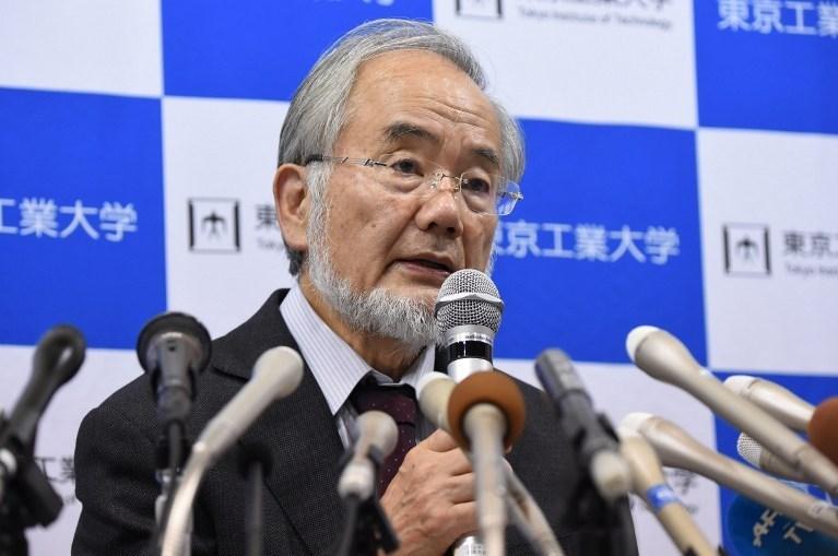 2016 Nobel Tıp Ödülü'nü Japon bilim insanıYoshinori Ohsumi kazandı.