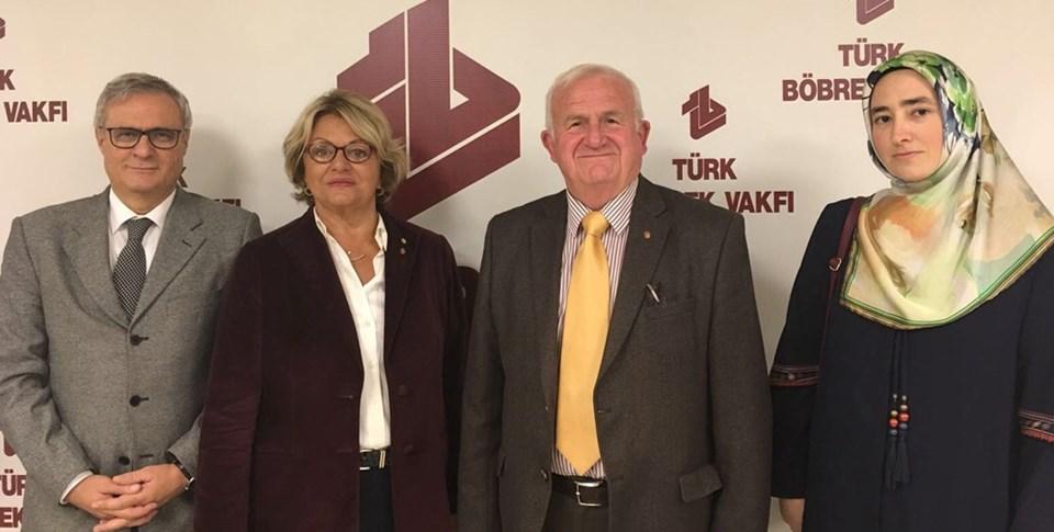 Prof. Dr. Mehmet Şükrü Sever, Mukaddes Yamaç,Timur Erk, Sema Ezber
